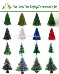 2015 artificial multi color led fiber optic christmas tree with