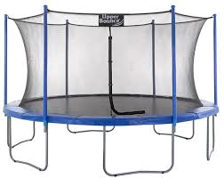 amazon com upper bounce 10 ft trampoline u0026 enclosure set