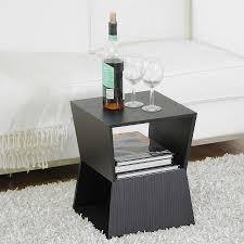 modern black table beautiful modern end tables tedxumkc decoration