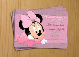baby minnie mouse baby shower baby shower invitations minnie mouse baby shower invitations