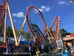Sox Flags New England Flashback At Six Flags New England Theme Park Archive