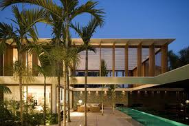 tropical modern house designs and floor plans