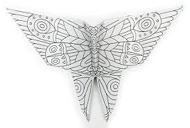 origami botanica coloring book 60 birds bugs u0026 flowers