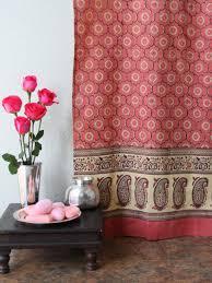 India Shower Curtain Indian Shower Curtains Batik Shower Curtain Fabric Shower