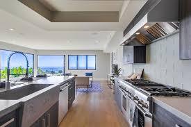 latest interior design trend concrete kitchen benchtops tech