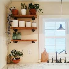 kitchen sheved 40 diy rustic wood shelves you can build yourself