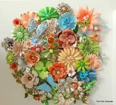 126 best vintage flower power images on flower brooch