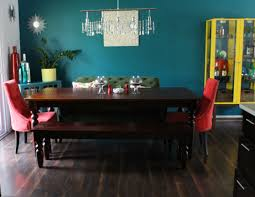 Teal Dining Room by The Dining Room The Resplendent Crow