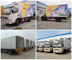 chengli famous thermo king refrigerator truck 4x2 food meat