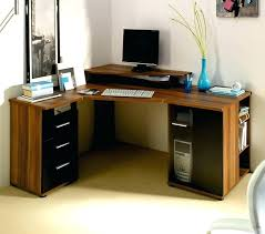Wood Corner Desks For Home Corner Desk Home Office Built In Custom Desks Best Ideas On
