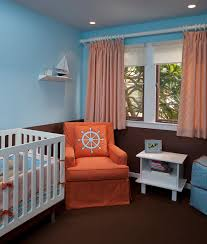orange and blue bedroom home living room ideas