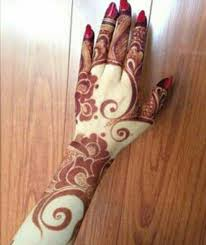 arabic henna design i love the swirls the thick shapes the
