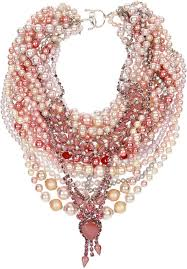 pearl necklace with crystals images Tom binns pearls in peril rhodium plated faux pearl and crystal jpg