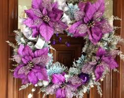 Pink Purple Blue Christmas Decorations by Silver Gold And Teal Blue Christmas Ornament Wreath The