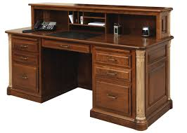 Antique Reception Desk by Traditional Office Furniture Rochester Ny Jack Greco
