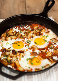 spanish thanksgiving food why not serve eggs for dinner fried potatoes and eggs baked in