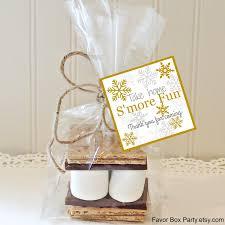smores wedding favors winter wedding s mores favors s mores kit s mores party favors