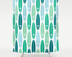 Surfer Shower Curtain Turquoise Shower Curtain Lorraine Home Fashions Pop 70inch X