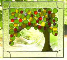 334 best stained mosaics trees images on glass