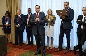 Trump Redesign Oval Office Core Trump Team Attended His Press Event With Bill Clinton U0027s Accusers