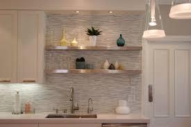 Unique Backsplash Ideas For Kitchen Plush Modern Kitchen Tile Backsplash Combined With Metal Wall
