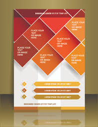 creative brochure templates free cover flyer creative design vector 01 vector cover free