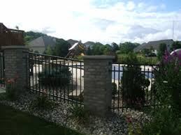swimming pools fences deselle fence co