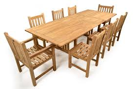 8 Seater Patio Table And Chairs This Is A Popular 8 Seater Teak Set Which Comes With An Extendable