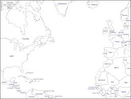 Canada Blank Map by Outline Maps Of The World U2013 Subratachak
