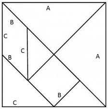 tangram puzzles how to make a tangram square the puzzle wehavekids