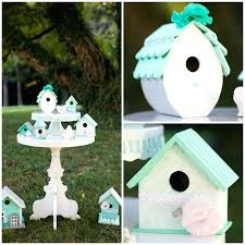 Birds Home Decor Home Decor Bird Wedding Shabby Chic Bird House Decor Home Decor