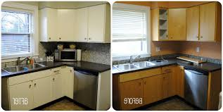 painting maple cabinets before and after smith design how to image of painting kitchen cabinets before and after photos