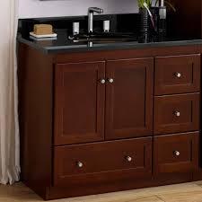 Cherry Bathroom Vanity Cabinets 36