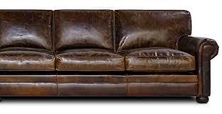 western leather sofa sedona lancaster oversized seating leather sofa u0026 set