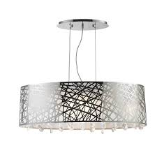 Lighting And Chandeliers Brilliance Lighting And Chandeliers High Gloss Modern 8 Light