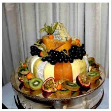 wedding cake made of cheese a thing of beauty wedding cakes made of cheese page 2 boredbug
