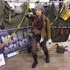 stockton spirit halloween store carol peletier walking dead cosplay costume by kay dee https www