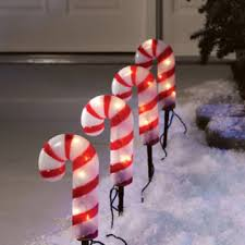Candy Canes Lights Outdoor by Peppermint Christmas Pathway Lights Christmas Wikii
