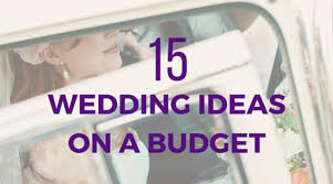Wedding Decorations On A Budget 15 Simple And Elegant Diy Wedding Ideas On A Budget Ella Celebration