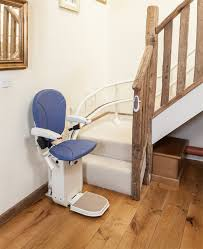 ameriglide platinum curved approved stair lift used