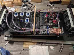 computer coffee table ramvik coffee table into watercooled computer ikea hackers