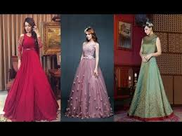 beautiful indian gown design youtube
