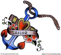 vintage anchor tattoo design tattoos pinterest vintage