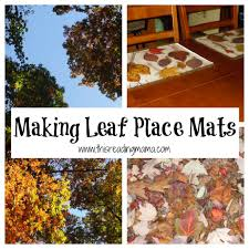 thanksgiving research for kids making leaf place mats jpg