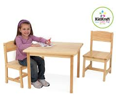 kidkraft aspen table and chair set natural kidkraft aspen table chair set natural 21221