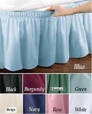 White Bed Skirt Queen Queen Bed Skirts Ebay