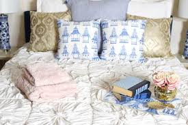 blue and white bedroom envy shelby dillon studio