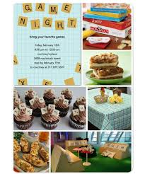family game night board game theme party planning ideas