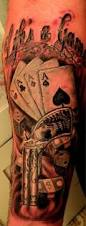 gambling tattoos u2013 life u0027s a game gambling tattoo design