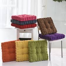 chaise pour sunnyrain épais velours élastique chaise coussins pour chaise de